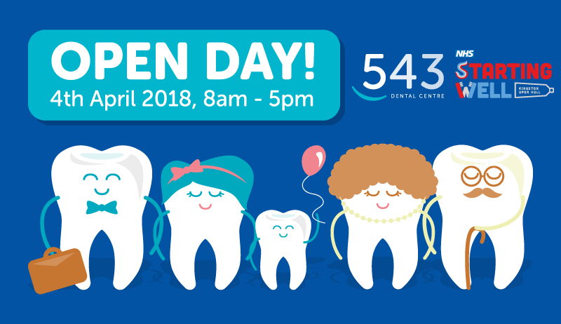 543 OPEN DAY – 4th April