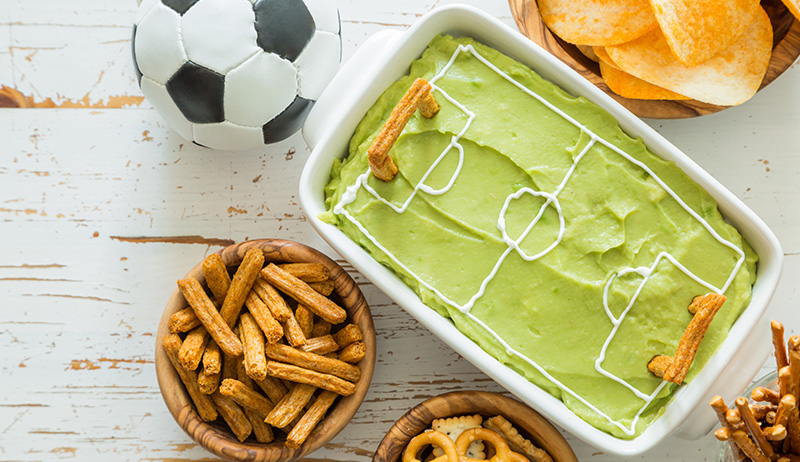 How to make the world's best football snacks