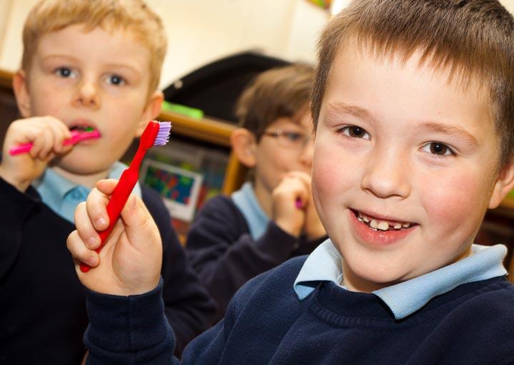 Teeth Team school visit.