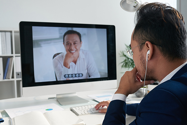 video consultation with dentist